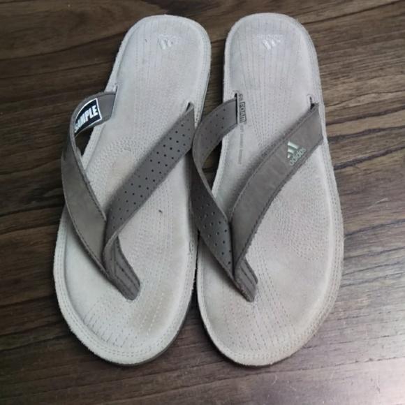 adidas schuhe fitfoam weich, comfort - fußbett flip - flops 7 poshmark